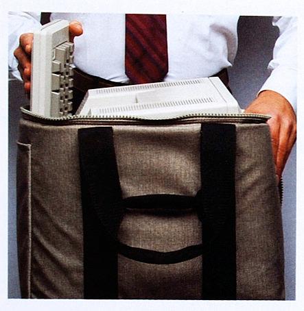初代Macのキャリングバッグ